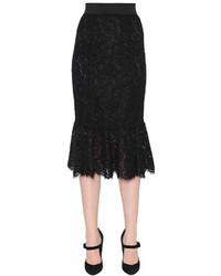 Dolce gabbana cordonetto lace pencil skirt medium 637972