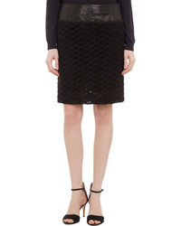 Derek Lam Guipure Lace Pencil Skirt