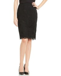 Vince Camuto Lace Pencil Skirt