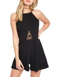 Miss Selfridge Lace Insert Romper