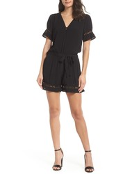 Fraiche by J Lace Inset Romper