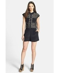 Marc by Marc Jacobs Leila Lace Overlay Romper