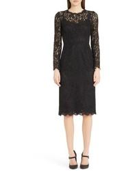 Dolce & Gabbana Dolcegabbana Lace Sheath Dress