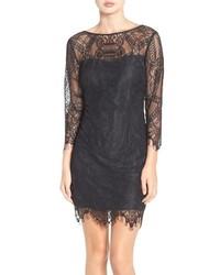 Everton illusion lace sheath dress medium 963843