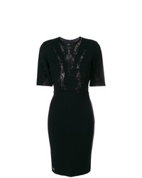 Philipp Plein Lace Panel Dress