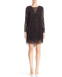 ADAM by Adam Lippes Adam Lippes Illusion Lace Shift Dress