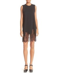 MCQ Alexander Ueen Lace Trim Shift Dress