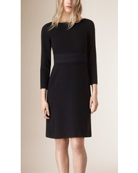 Burberry English Lace Detail Shift Dress