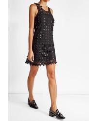Carven Lace Mini Shift Dress