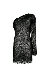 Faith Connexion Lace One Shoulder Mini Dress