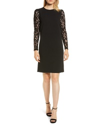 MICHAEL Michael Kors Lace Sleeve Shift Dress