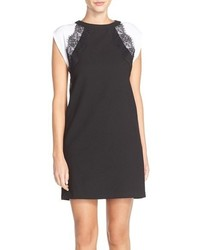 KUT from the Kloth Raglan Sleeve Crepe Shift Dress
