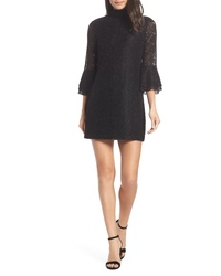 Ali & Jay Swept Away Mock Neck Lace Shift