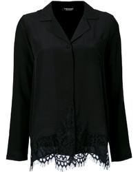 Twin-Set Lace Insert Shirt