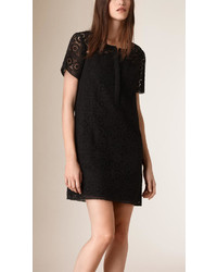 Burberry Cotton Lace Shirt Dress