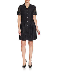 Equipment naomi lace shirtdress medium 130007