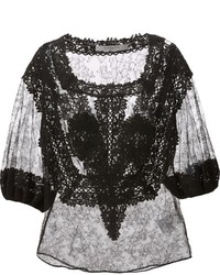 Givenchy Floral Lace Blouse