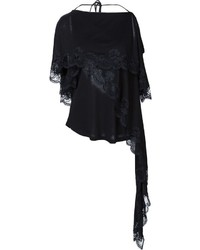 Givenchy Lace Detail Layered Blouse