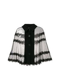 McQ Alexander McQueen Sheer Lace Blouse