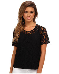 Vince Camuto Ss Lace Blouse W Cami