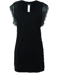 Twin-Set Lace Short Sleeves Blouse