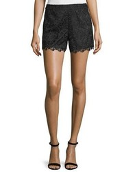 Alice + Olivia Amaris High Waist Lace Shorts