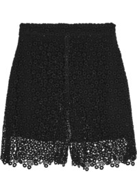 Chloé Cotton Blend Macram Lace Shorts