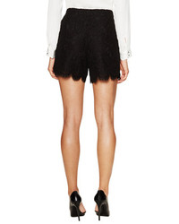 Dolce & Gabbana Cotton Scalloped Lace Short