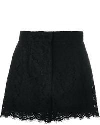 Dolce & Gabbana Floral Lace Shorts