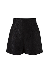 Martha Medeiros High Waist Lace Shorts