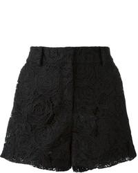 McQ by Alexander McQueen Mcq Alexander Mcqueen Guipure Lace Shorts