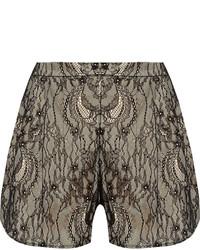 Haute Hippie Modal Lace Shorts