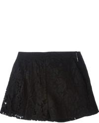 MSGM Floral Lace Shorts