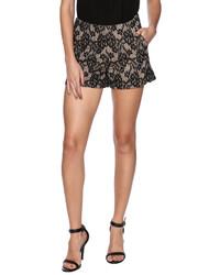 Mur Mur Black Lace Shorts