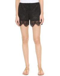 Nightcap X Carisa Rene Seashell Lace Shorts