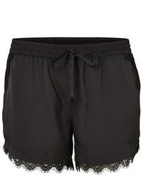 Junarose Plus Jinna Lace Boxy Shorts