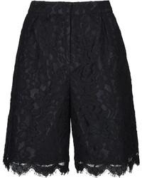 Topshop Premium Longline Lace Shorts 47% Viscose 30% Cotton 23% Polyamide Machine Washable