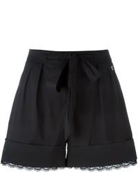 Twin-Set Lace Trim Shorts