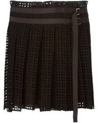 Sacai Lace Pleated Skirt