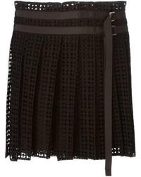 Sacai Lace Pleated Skirt