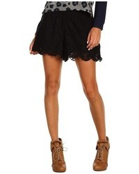 Free People Scalloped Lace Short 257a