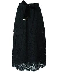 Twin-Set Lace Midi Skirt