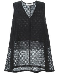 See by Chloe See By Chlo Embroidered Floral Lace Top