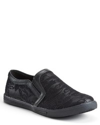 N.Y.L.A. Nyla Edith Lace Slip On Sneakers