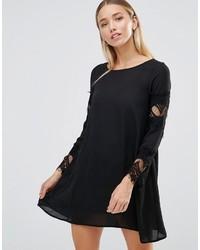 be0b0e6d396b Black Lace Swing Dresses for Women