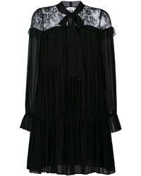 Twin-Set Lace Panel Swing Dress