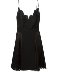 Black Lace Tank Dress