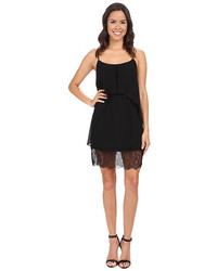 BCBGeneration Lace Hem Flow Tank Dress