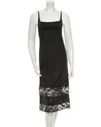 Marc Jacobs Lace Trimmed Slip Dress