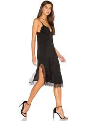 Capulet Parlour Lace Slip Dress In Black